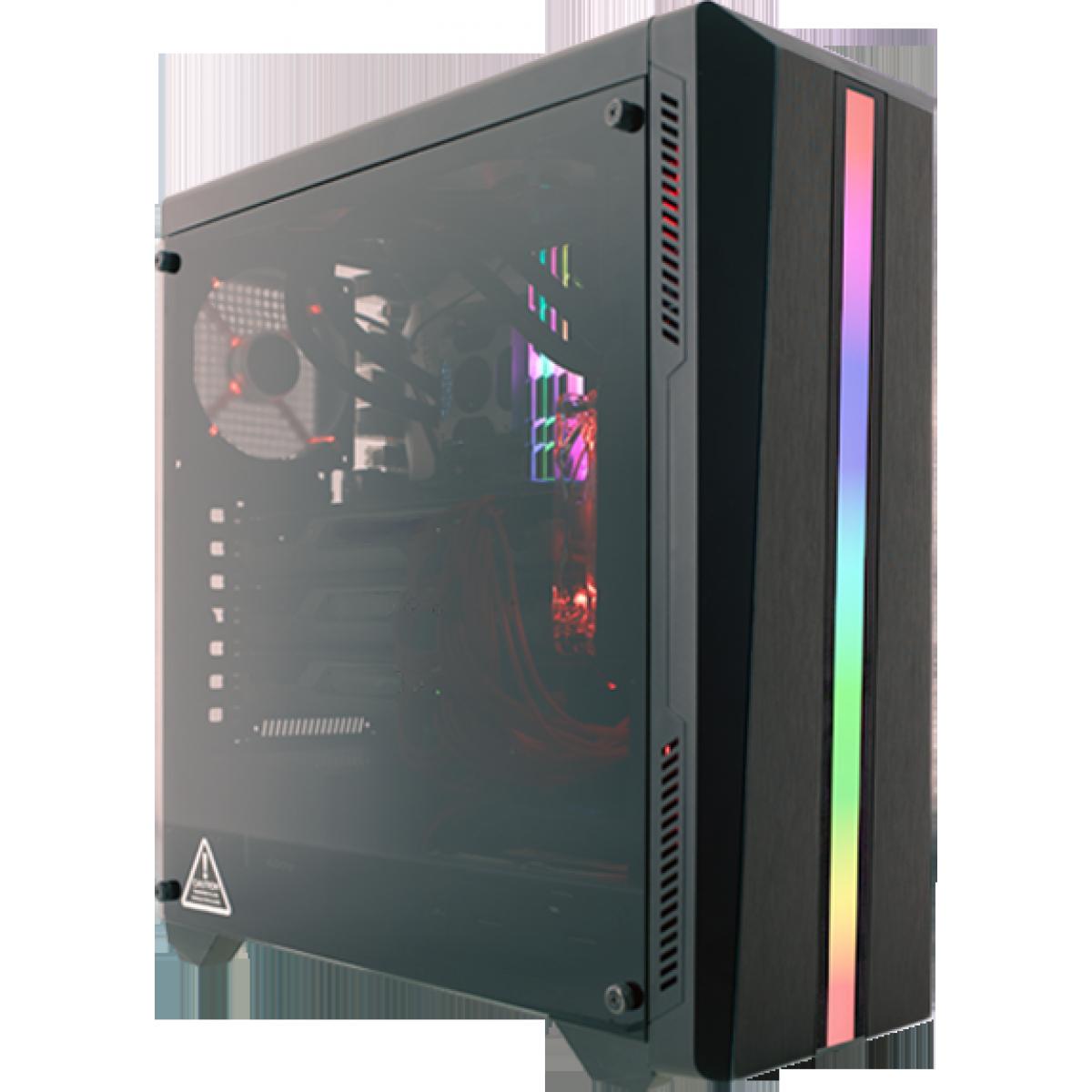 Pc Gamer T-Commander LVL-7 AMD Ryzen 5 3500 / Radeon RX 5600 XT 6GB / DDR4 8GB / HD 1TB / 600W
