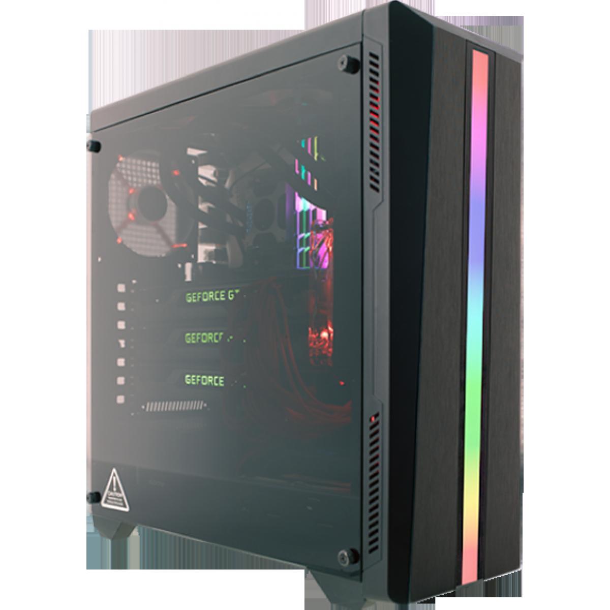 Pc Gamer T-Power Colonel Lvl-2 AMD Ryzen 7 2700 / GeForce GTX 1660 Ti / DDR4 8GB / HD 1TB / 600W