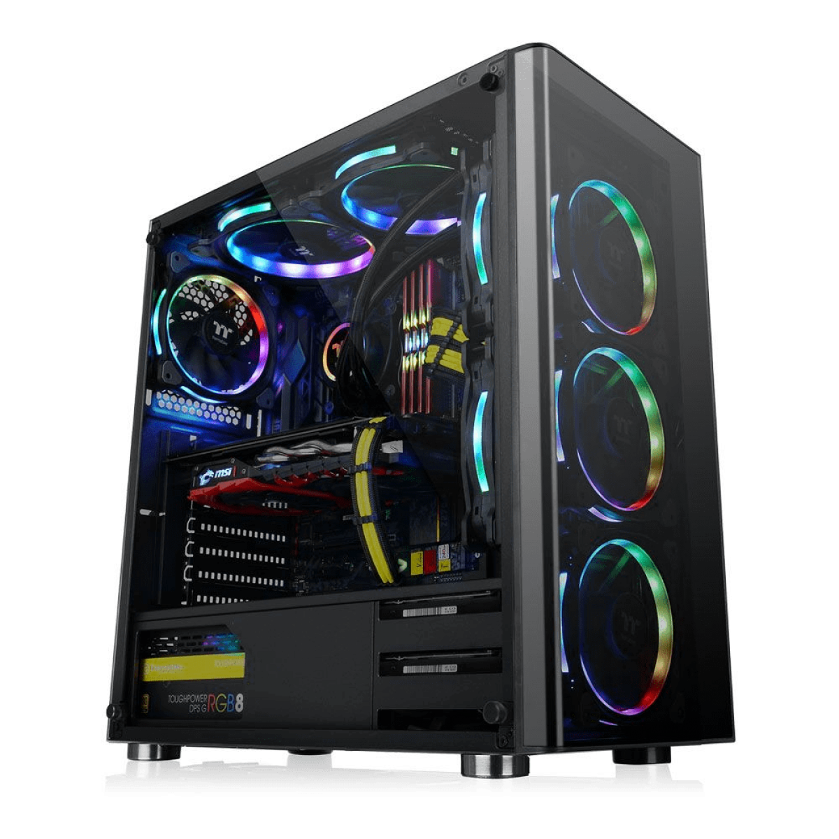 Pc Gamer T-Power Destroyer Lvl-4 AMD Ryzen 7 3800X / GeForce RTX 2070 Super / DDR4 16GB / HD 1TB / 600W