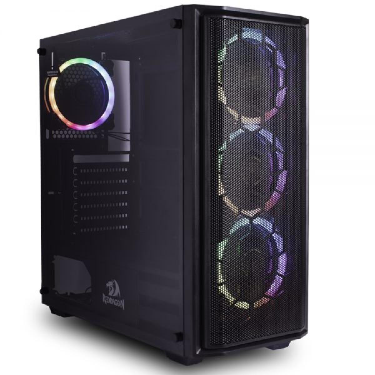 PC Gamer T-Power Captain Lvl-3 Intel I7 9700KF 3.60GHz / Radeon RX 5700 XT 8GB / 16GB DDR4 / HD 1TB / 600W