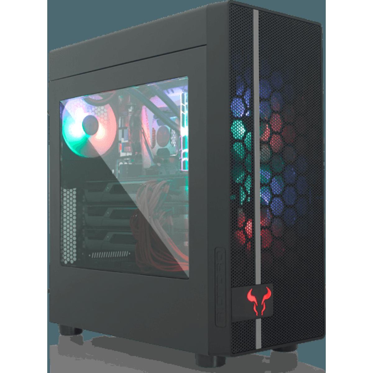 Pc Gamer T-Power Warlord Lvl-4 AMD Ryzen 7 3700X / GeForce RTX 2070 Super / DDR4 16GB / HD 1TB / 600W