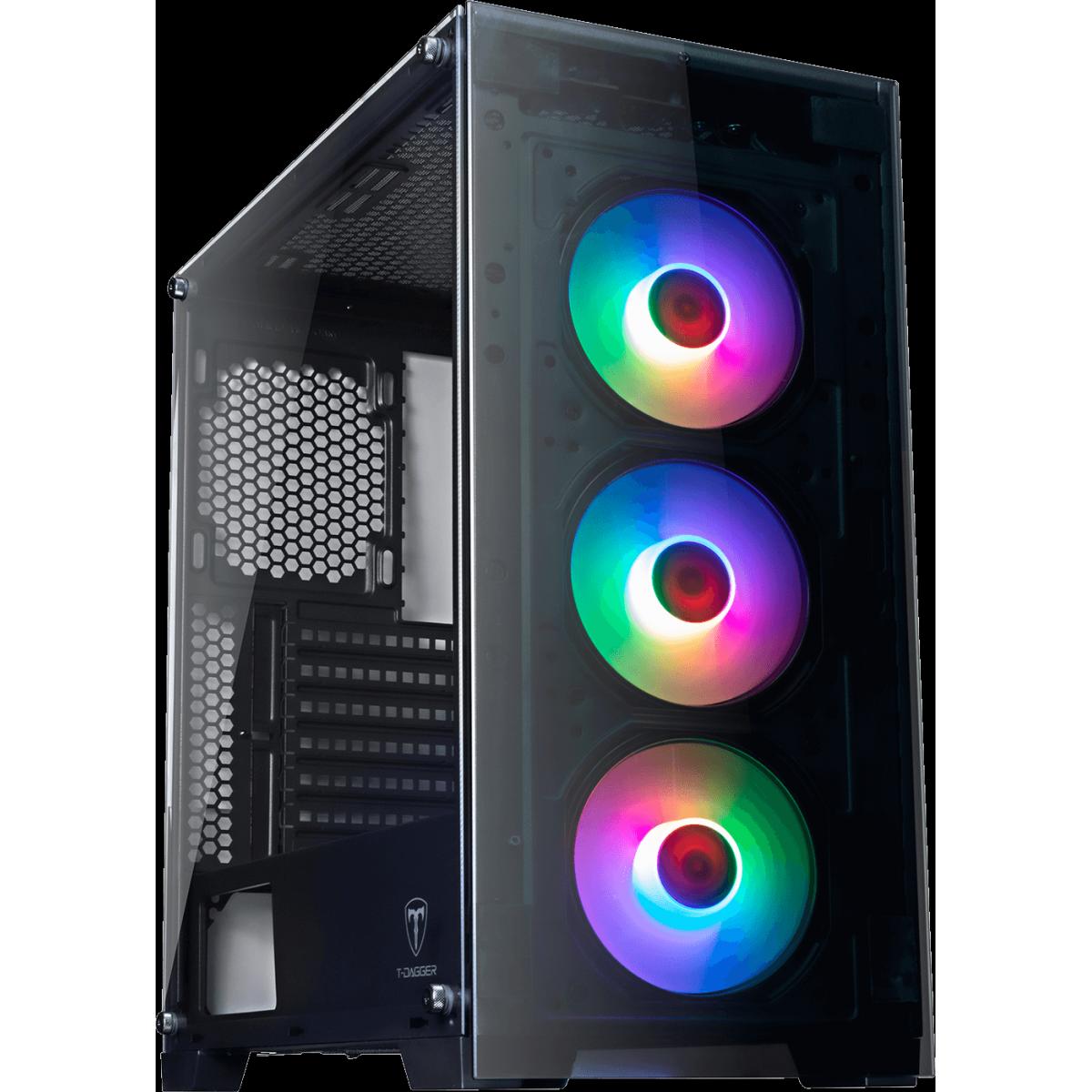Pc Gamer T-General Lvl-2 Amd Ryzen 5 3600 / Radeon RX 570 4GB / DDR4 8GB / HD 1TB / 500W