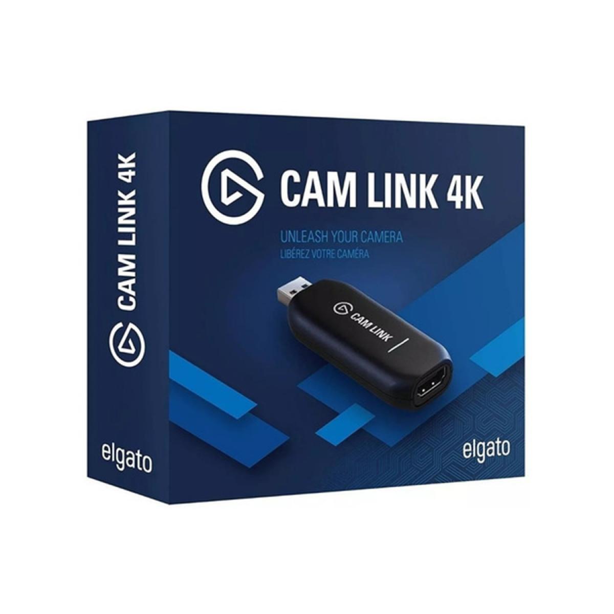 Placa de captura Elgato Cam Link 4k, HDMI, 10GAM9901