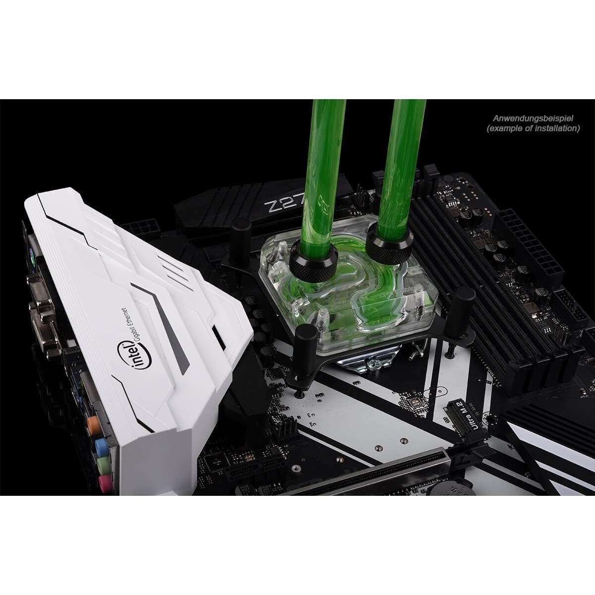 Bloco Alphacool Eisblock XPX Acrílico Intel/AMD