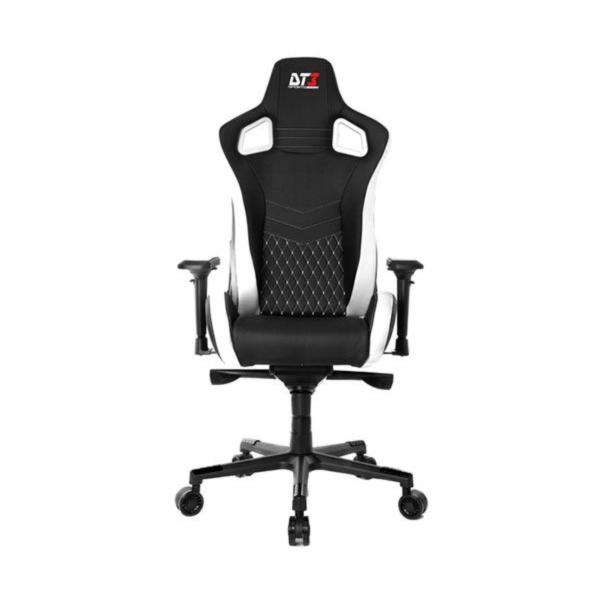 Cadeira Gamer ELITE DT3 Sports Onix Diamond Black/White