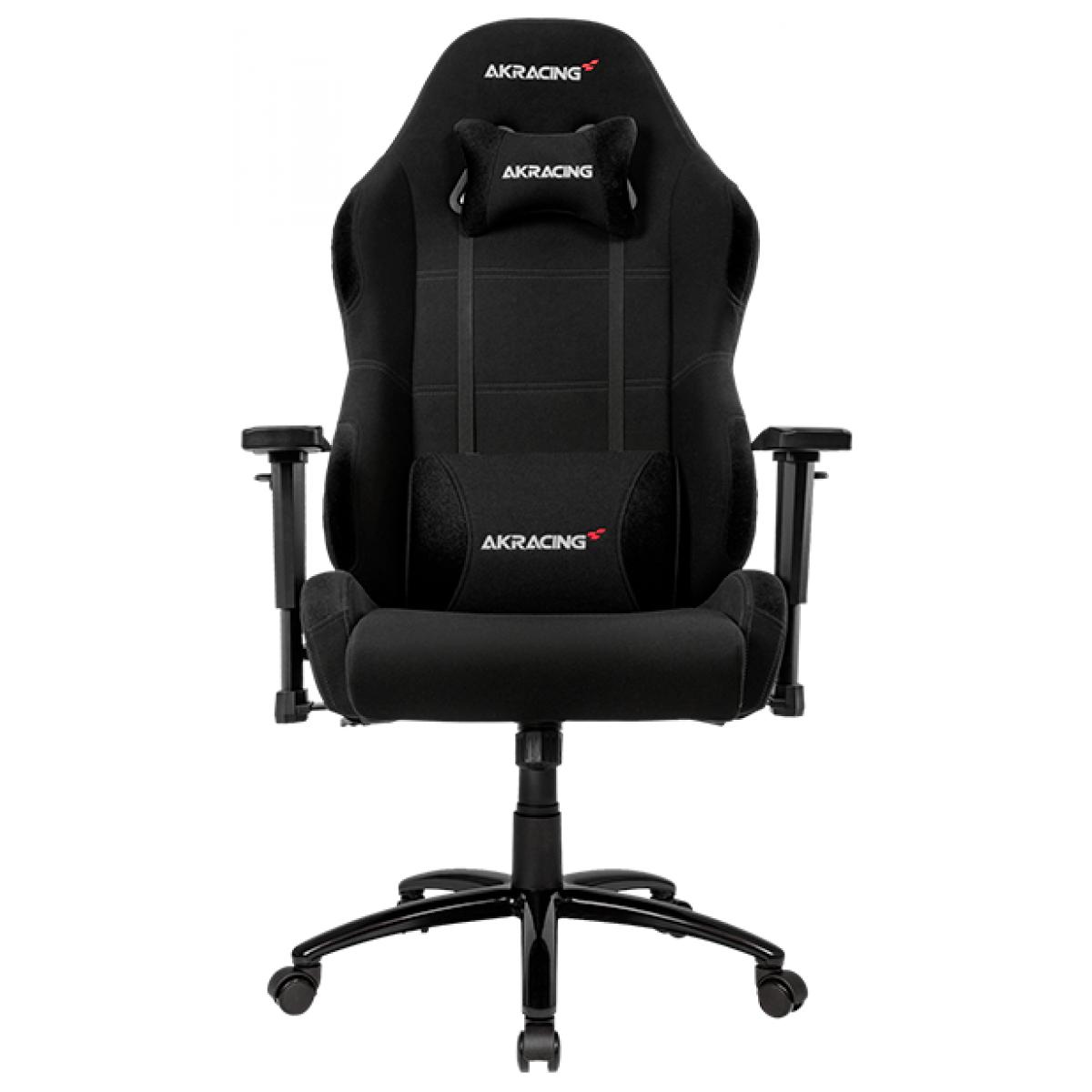 Cadeira Gamer AKRacing, K7 Wide, Reclinável, Black