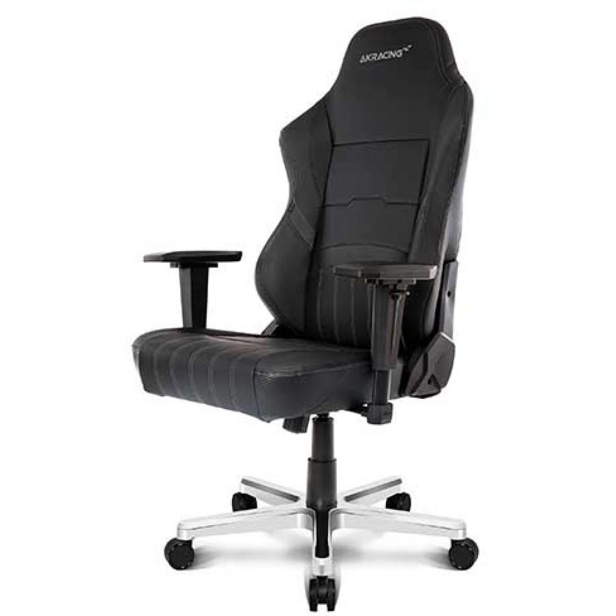 Cadeira Gamer AKRacing, Meraki, Reclinável, Preta, 11067-5