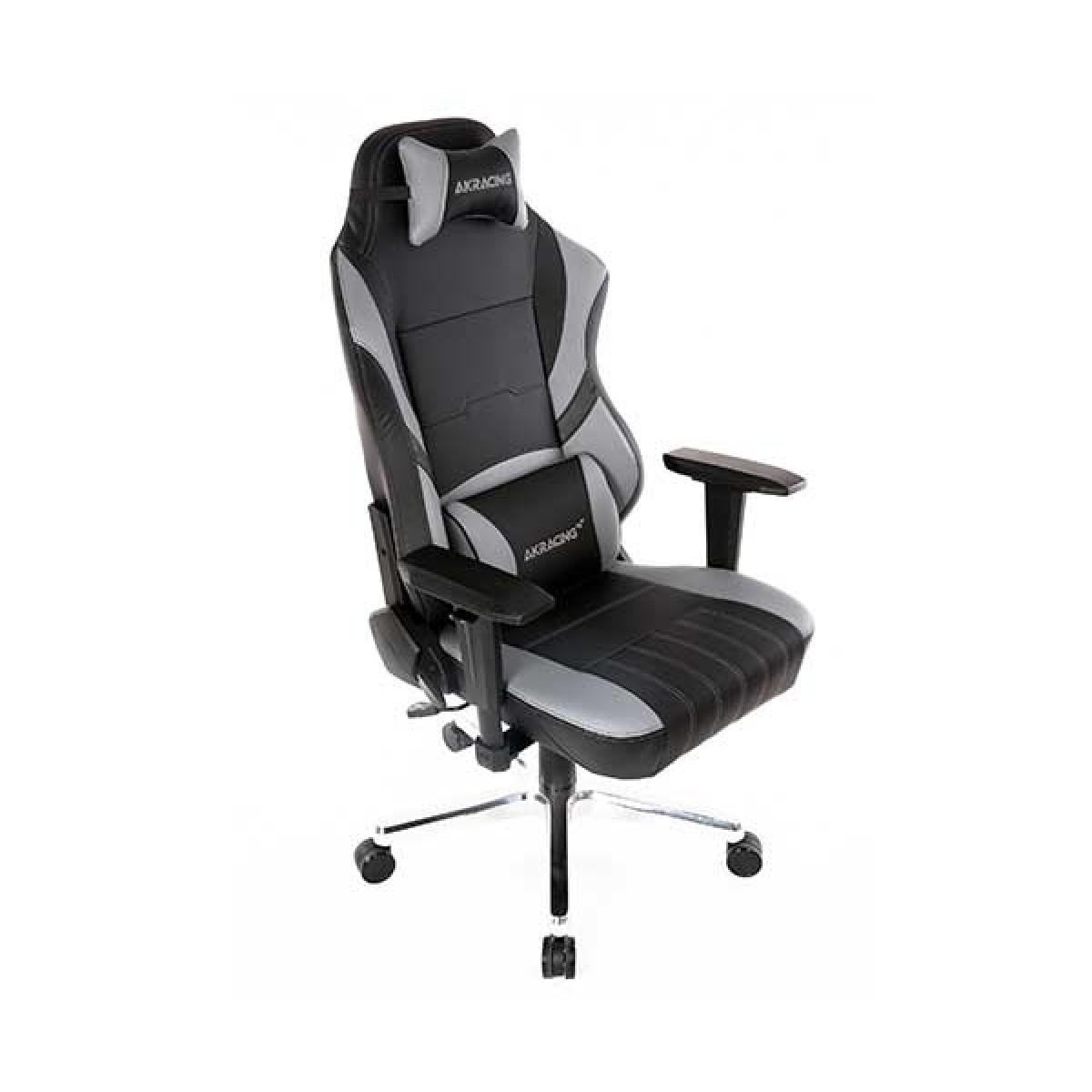 Cadeira Gamer AKRacing, Meraki, Reclinável, Preta/Cinza, 11068-6
