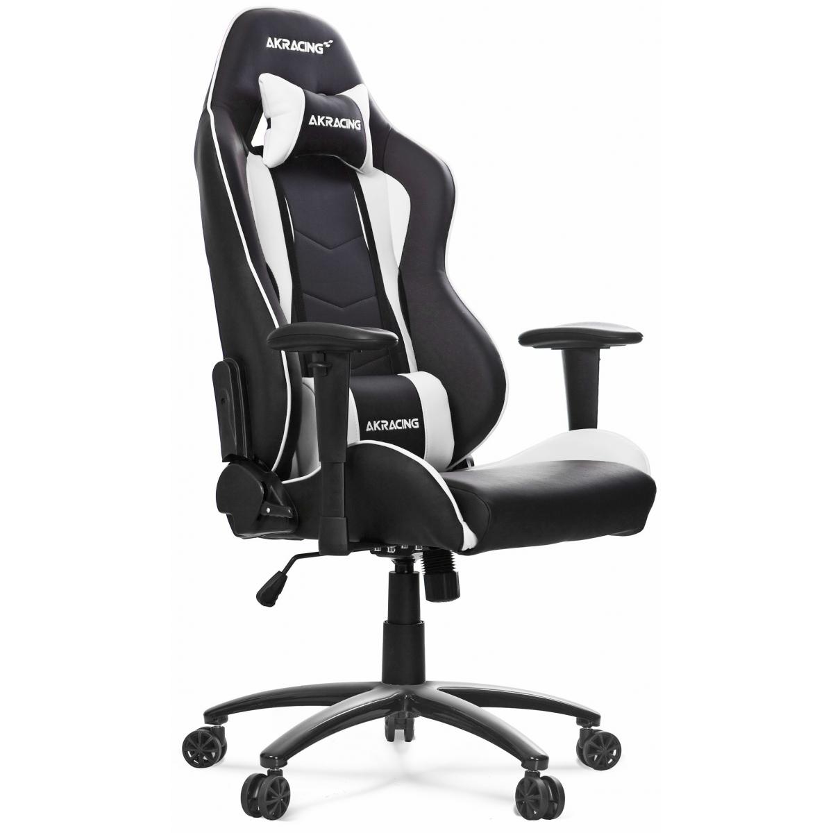 Cadeira Gamer AKRacing Nitro, Reclinável, White, AK-NITRO-WT