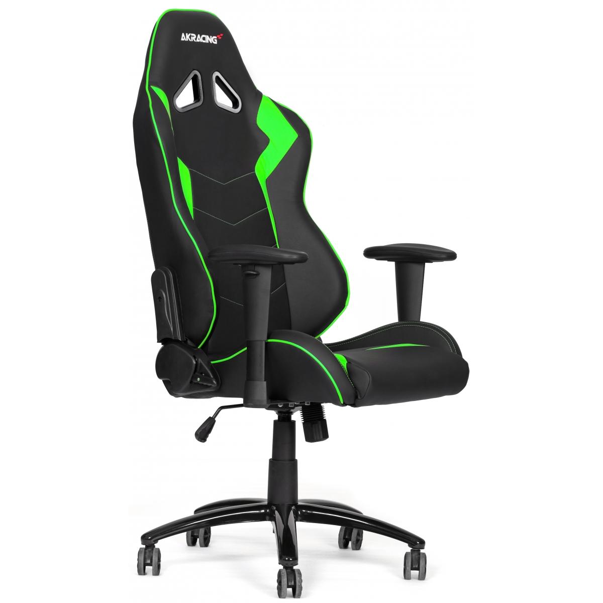Cadeira Gamer AKRacing Octane, Green, AK-OCTANE-GN