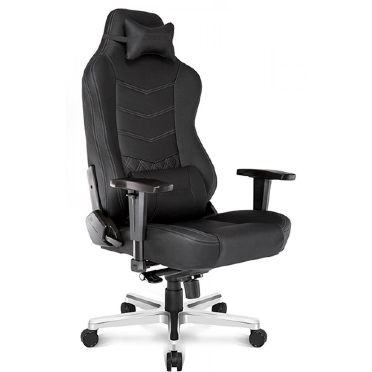 Cadeira Gamer AKRacing, Onyx, Reclinável, Preta, AK-ONYX-BK