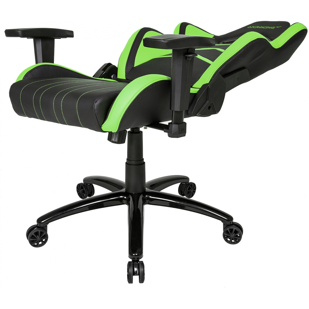 Cadeira Gamer AKRacing Player Black Green 10039-3 - Open Box