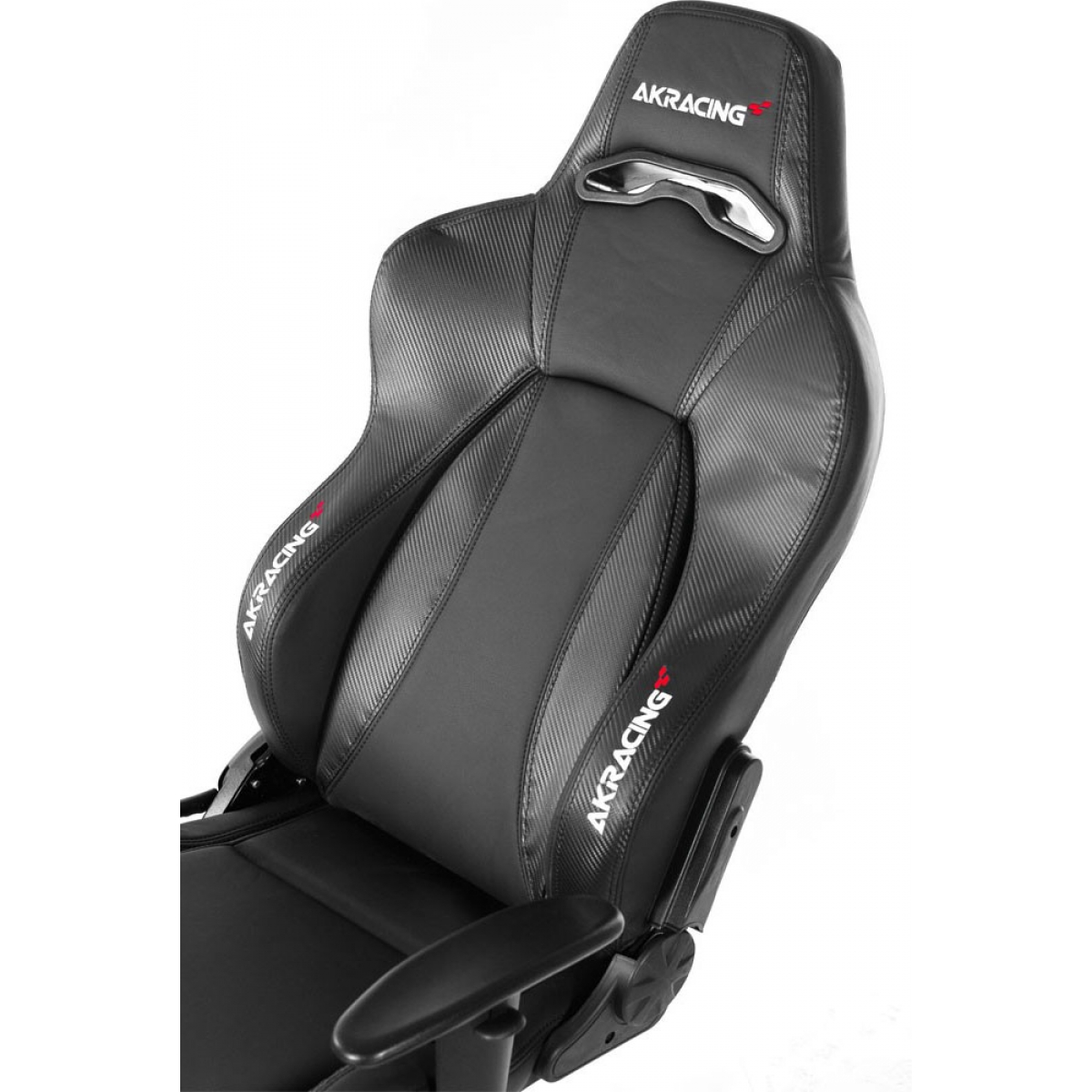 Cadeira Gamer AKRacing V2 Premium, Reclinável, Carbon Black, AK-7002-CB