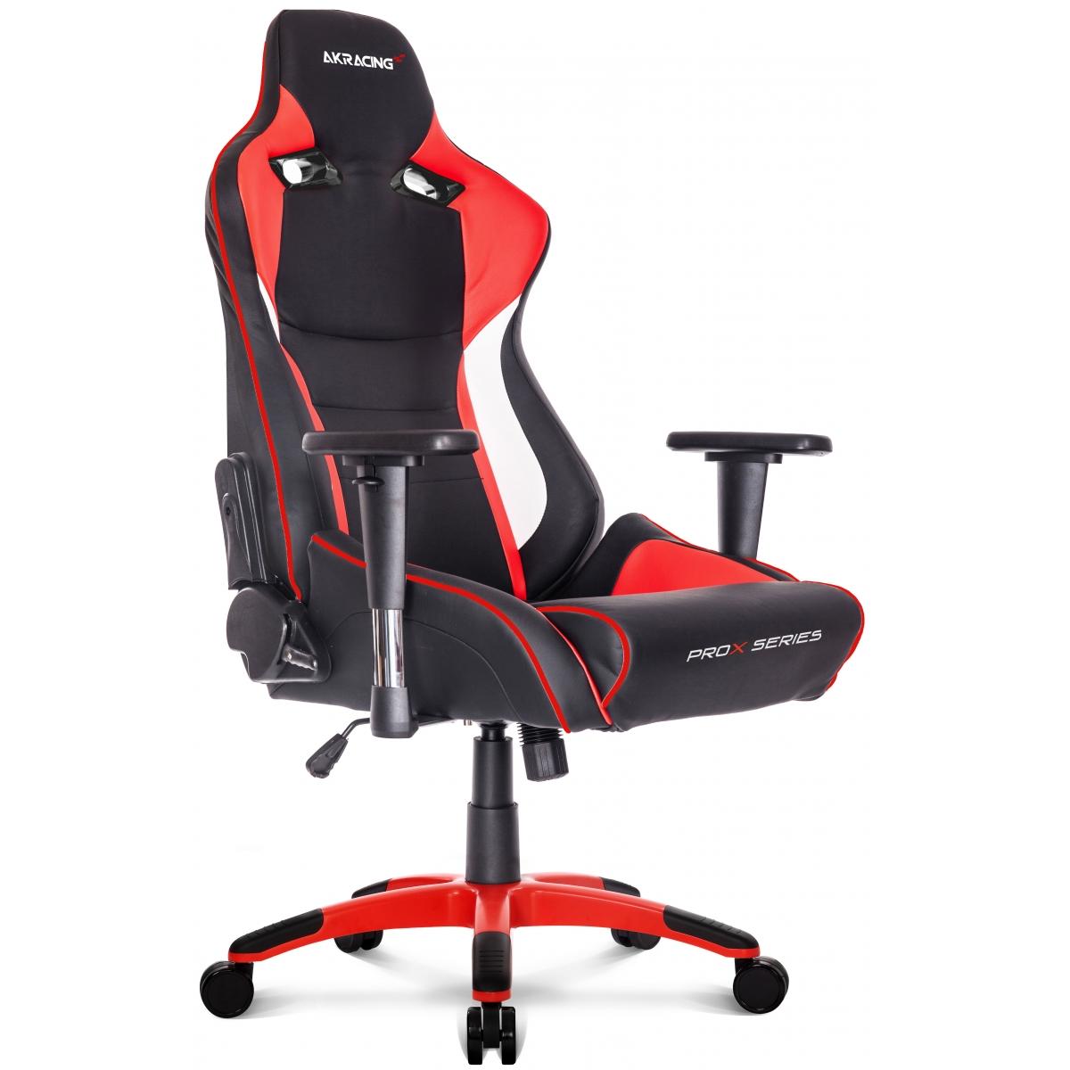 Cadeira Gamer AKRacing ProX,Reclinável, Red, AK-PROX-RD