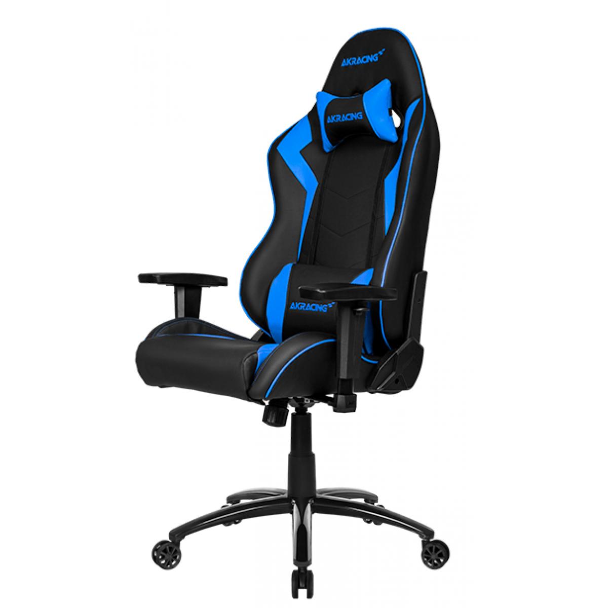Cadeira Gamer AKRacing Wolf, Reclinável, Blue