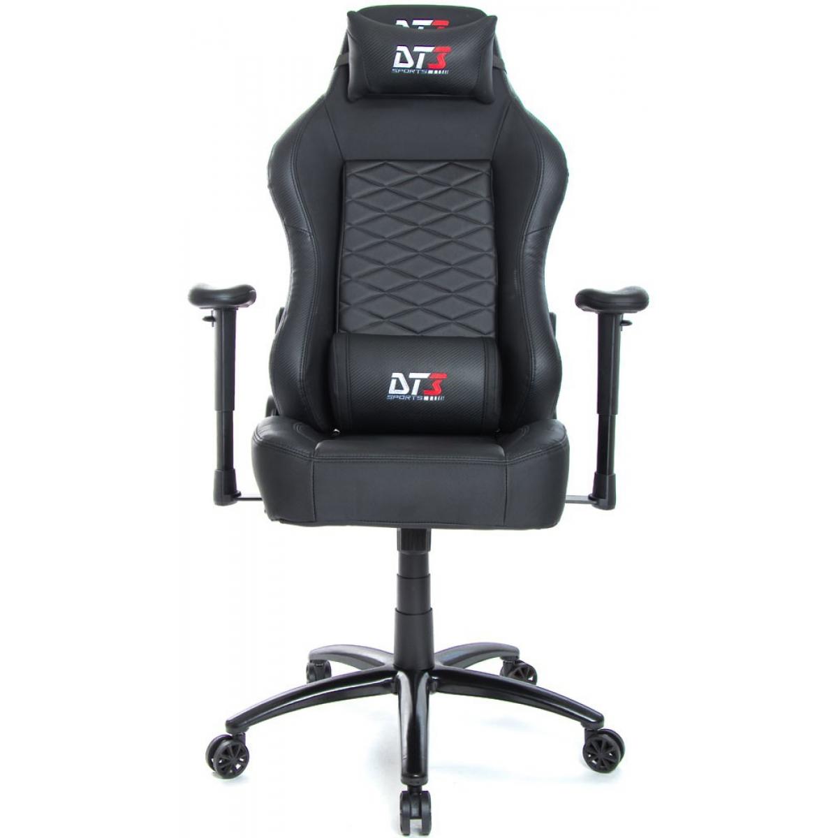 Cadeira Gamer DT3Sports Gamma, Black