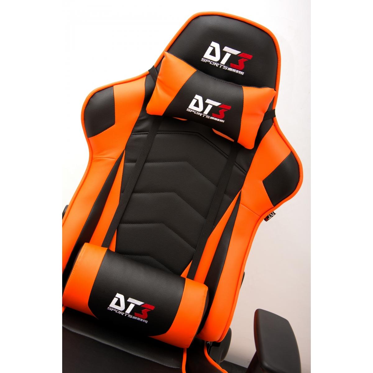 Cadeira Gamer DT3Sports Mizano, Black-Orange