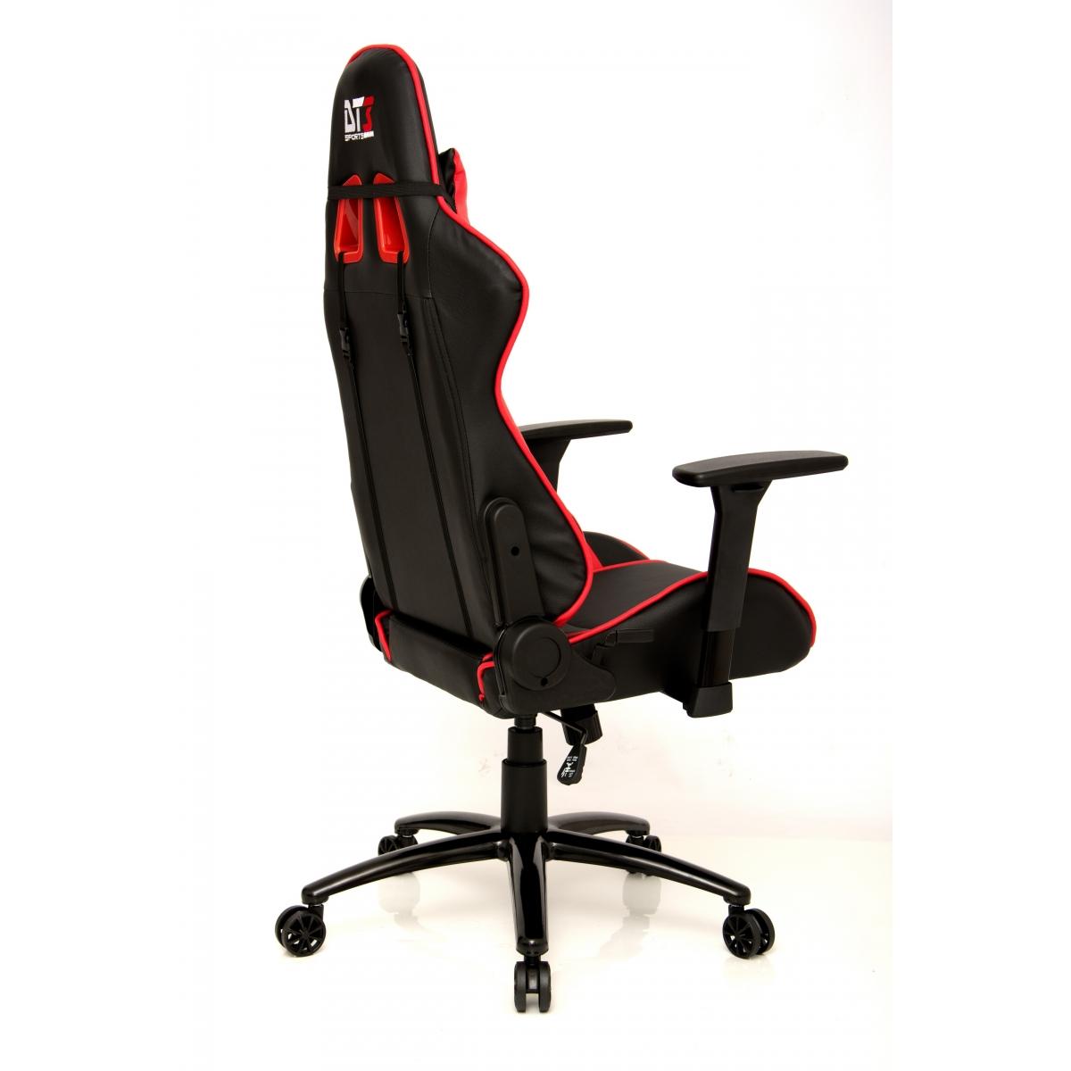 Cadeira Gamer DT3Sports Mizano, Black-Red