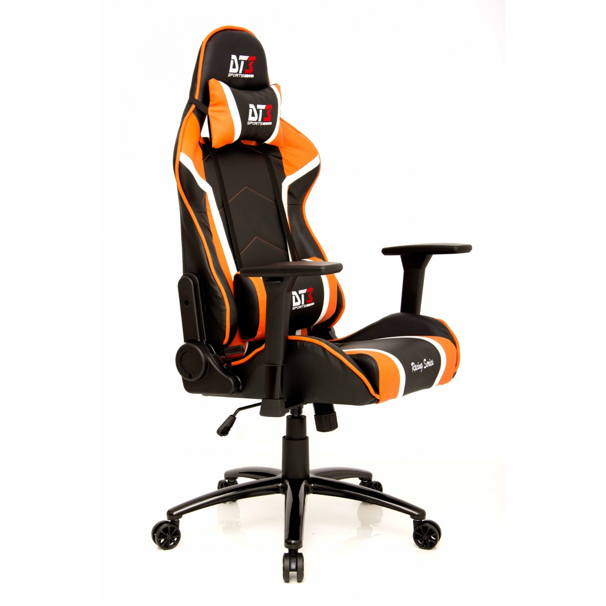 Cadeira Gamer DT3Sports Modena, Black-Orange