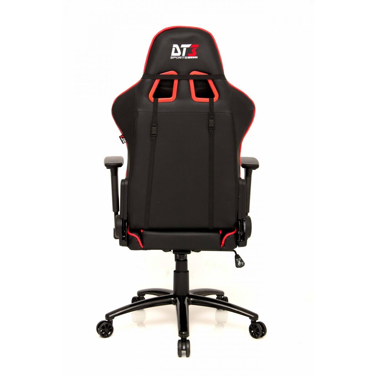 Cadeira Gamer DT3Sports Modena, Black-Red
