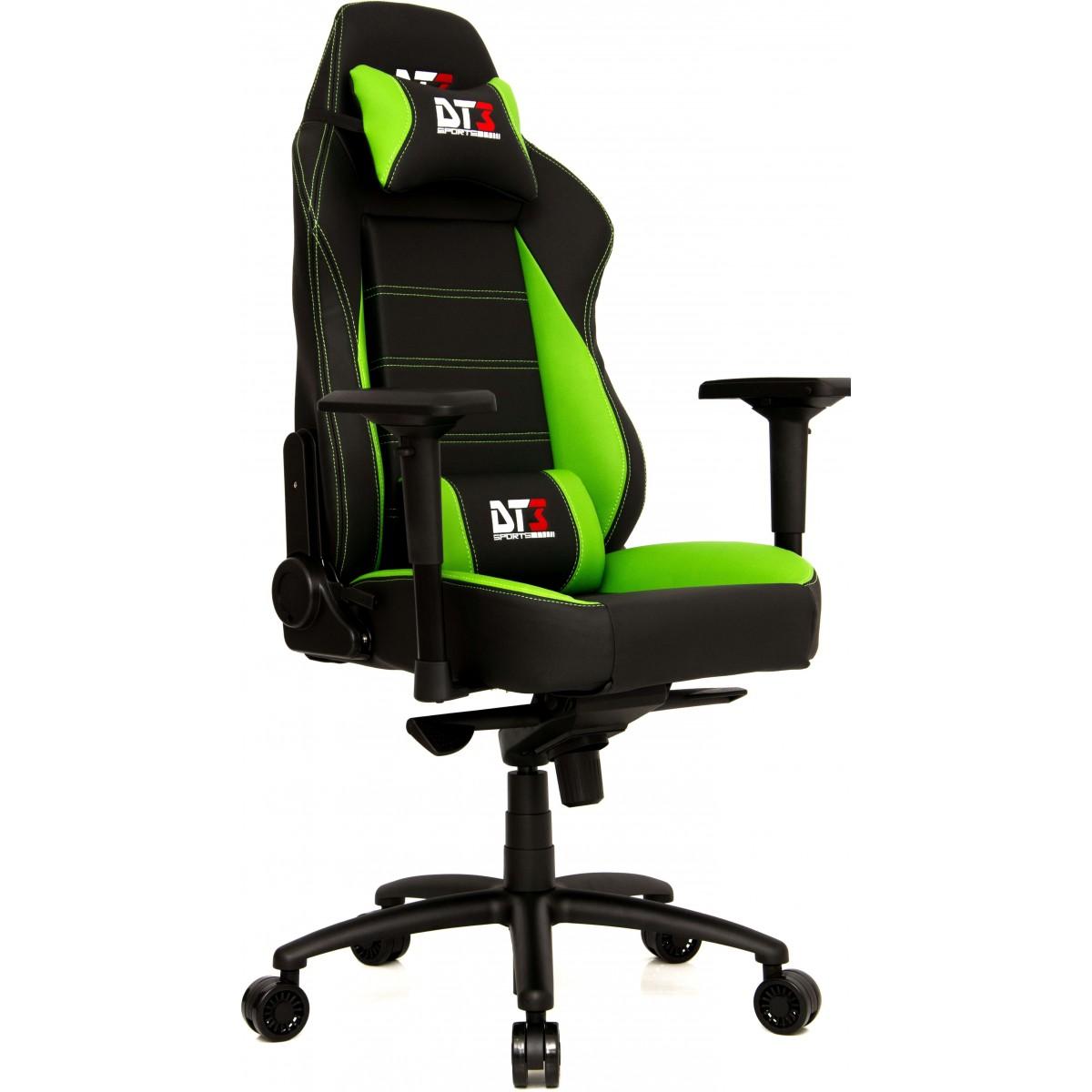 Cadeira Gamer DT3 Sports Orion Black Green