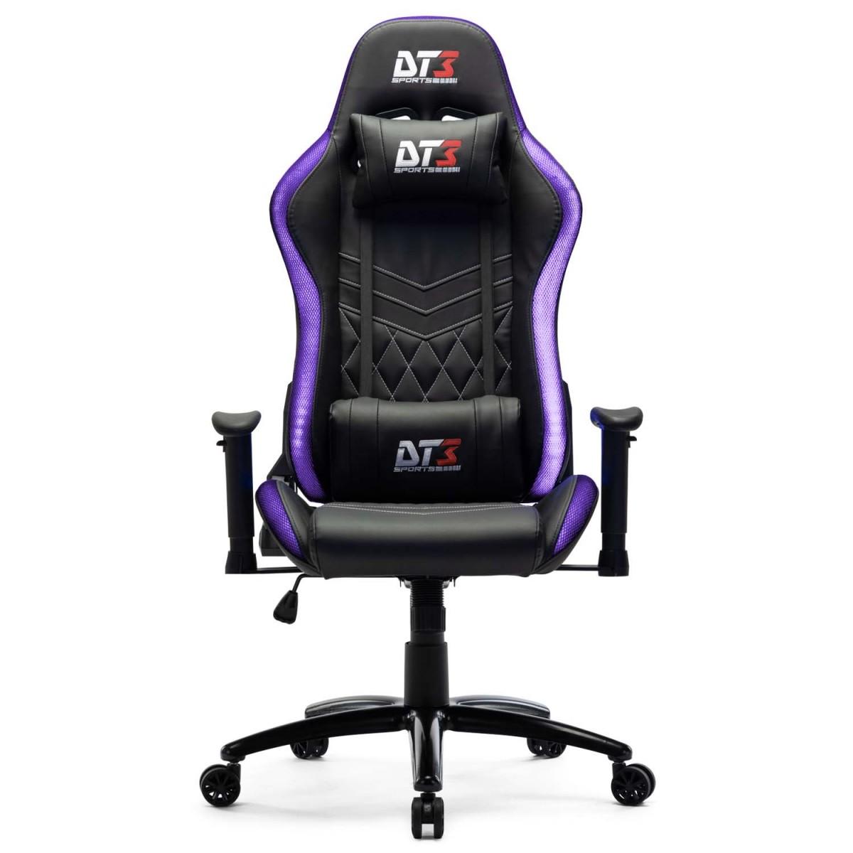 Cadeira Gamer DT3Sports Estelar, RGB, Black
