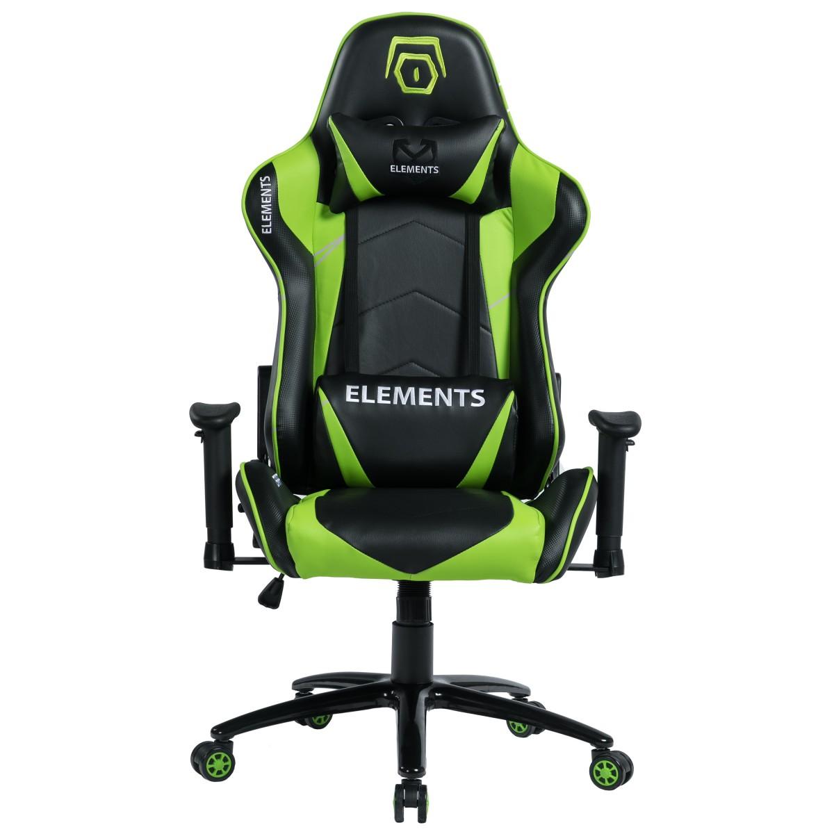 Cadeira Gamer Elements Veda Terra, Green