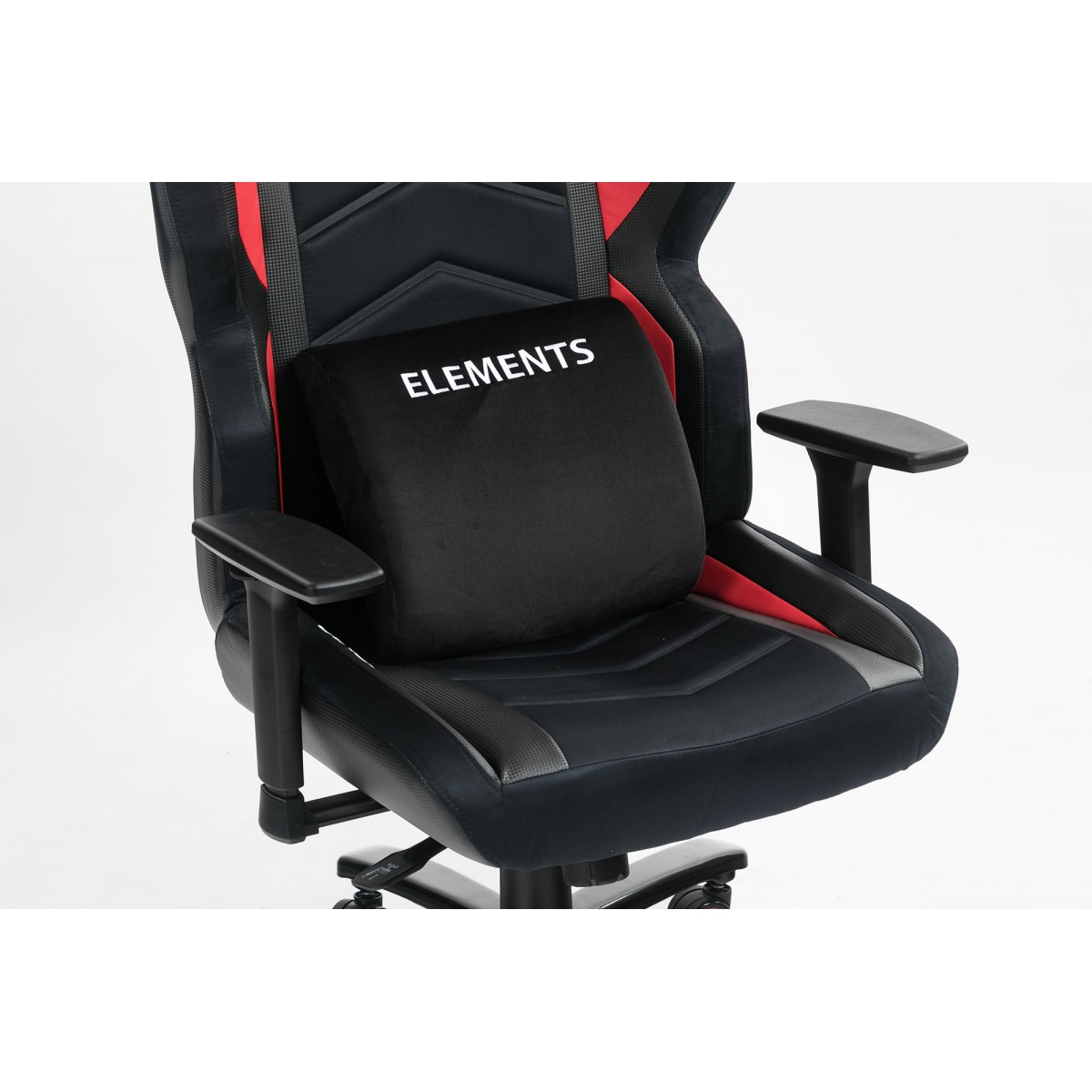 Cadeira Gamer Elements Magna IGNIS, Reclinável, Black-Red