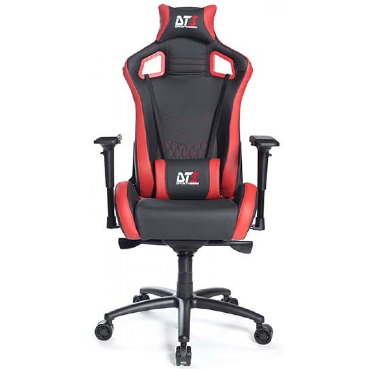Cadeira Gamer DT3 Sports Elite Ônix Diamond Red