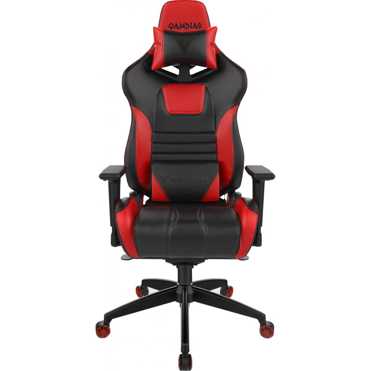 Cadeira Gamer Gamdias Achilles RGB M1A, Black-Red, GD-ACHILLESM1ALBR