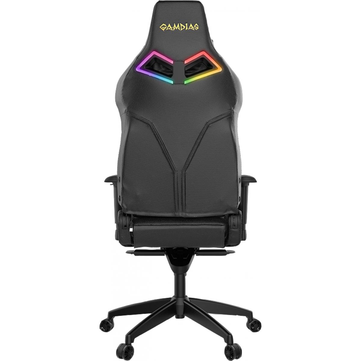 Cadeira Gamer Gamdias Achilles RGB P1 L, Black, GD-ACHILLESP1LB