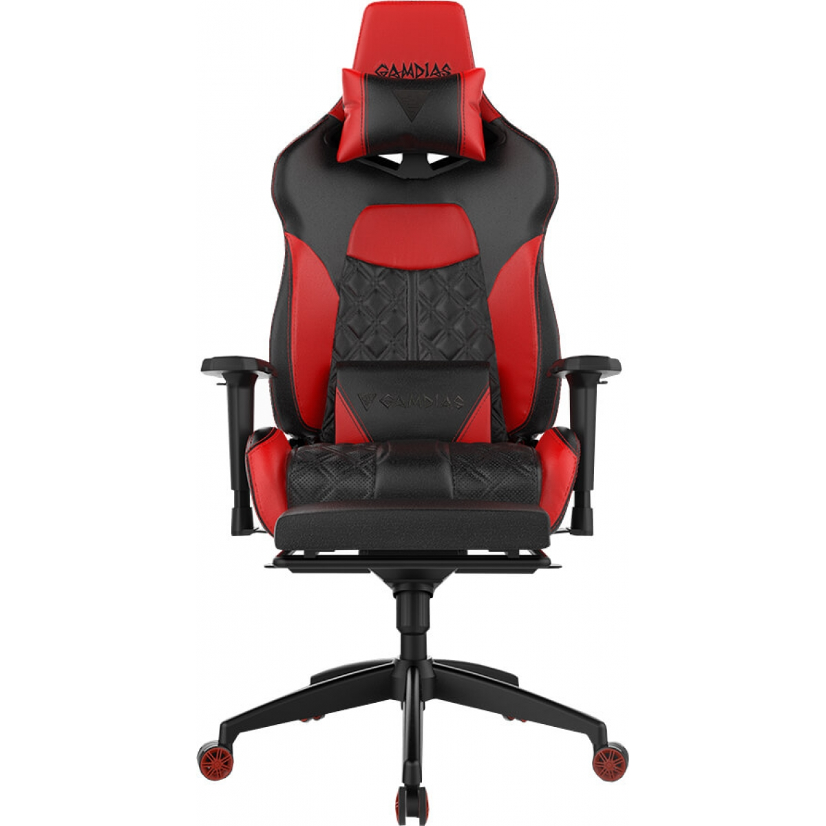 Cadeira Gamer Gamdias Achilles RGB P1 L, Black-Red, GD-ACHILLESP1LBR