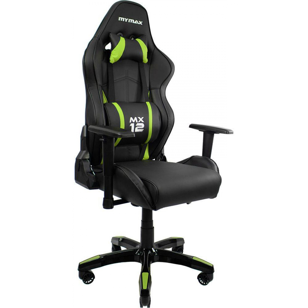 Cadeira Gamer Mymax MX12, Black-Green