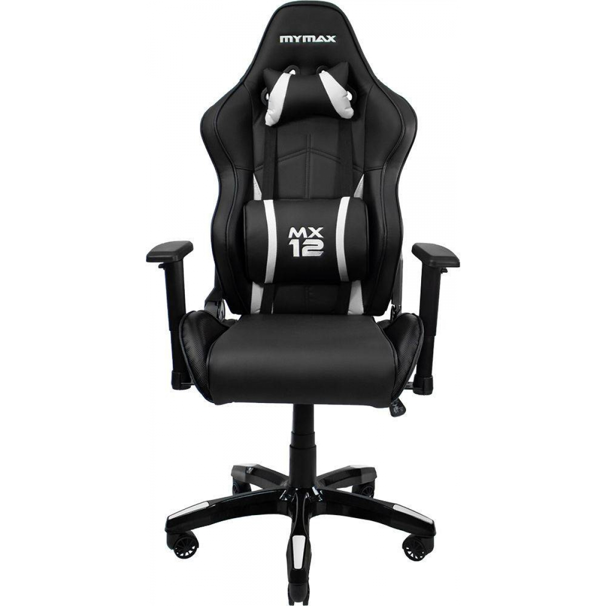 Cadeira Gamer Mymax MX12, Black-White