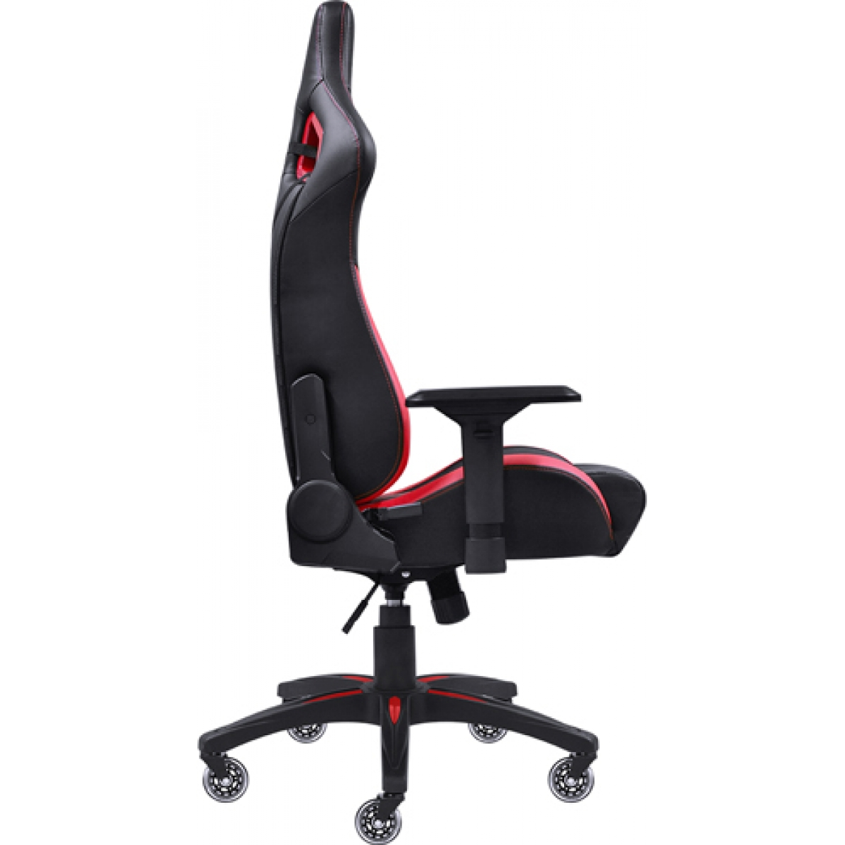 Cadeira Gamer PCYes Mad Racer V10, Black-Red, MADV10VMGL