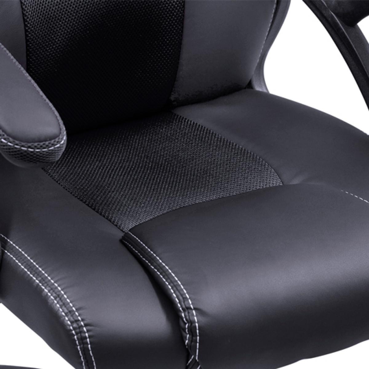 Cadeira Gamer PCYes Mad Racer V6, Black, MADV6PT