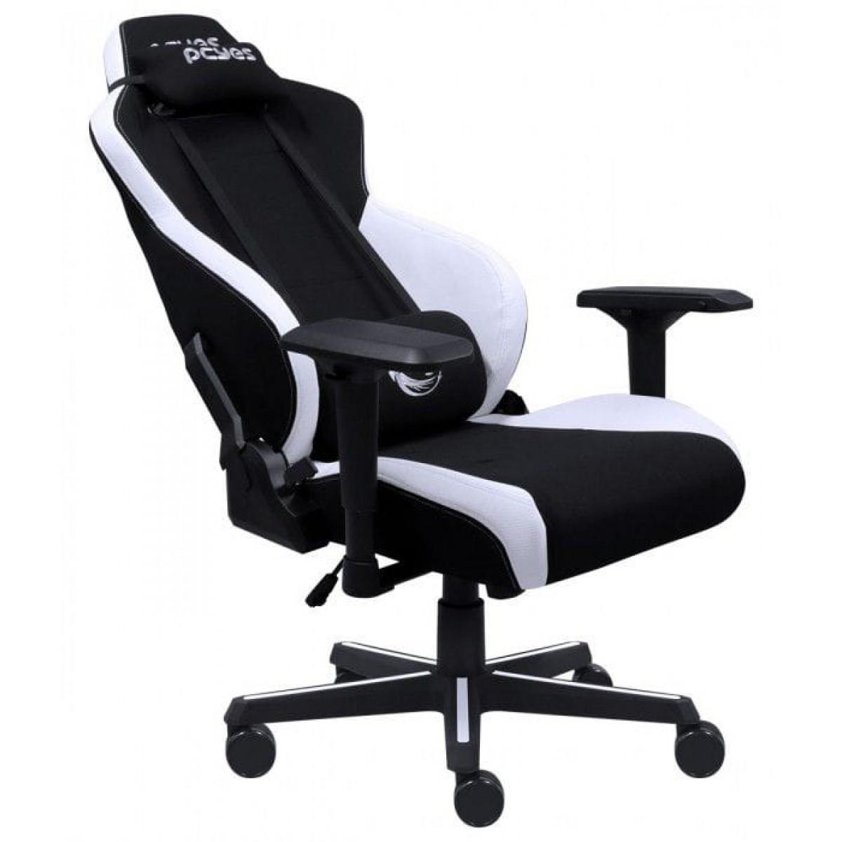 Cadeira Gamer PCyes Mad Racer V8, Branca, V8TBMADBC