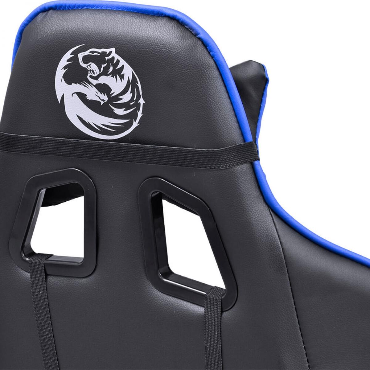 Cadeira Gamer PCYes Mad Racer V8, Black-Blue, MADV8AZGL