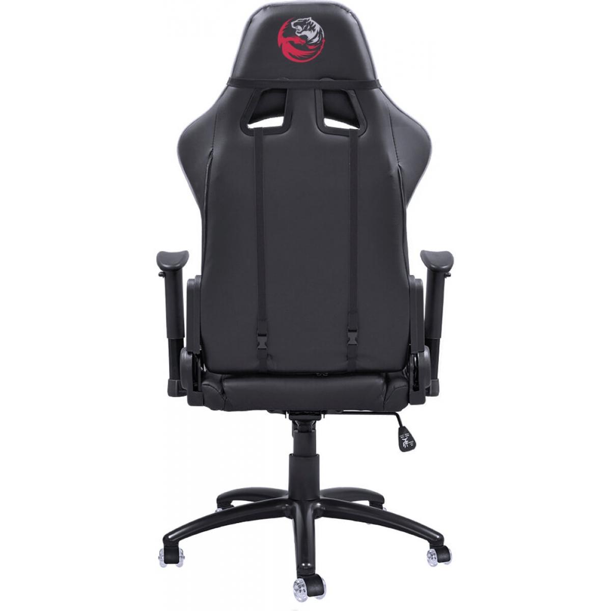 Cadeira Gamer PCYes Mad Racer V8 MADV8BCGL Preta/Branco - Open Box