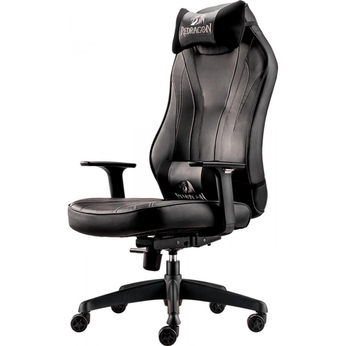 Cadeira Gamer Redragon Metis C102, Black, C102-B