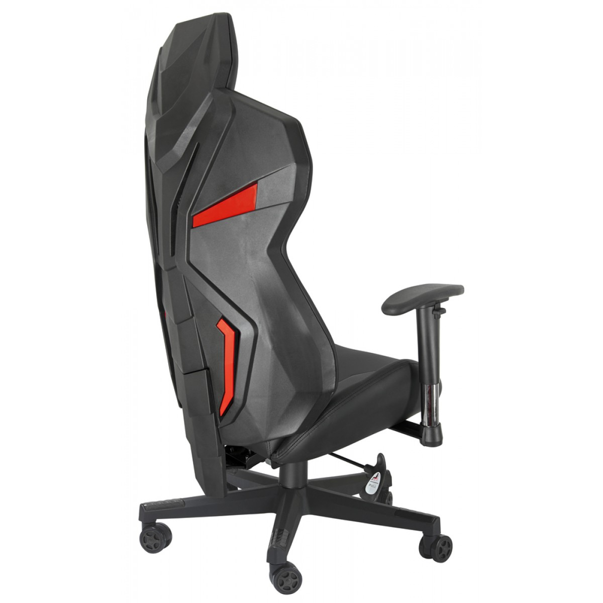 Cadeira Gamer Riotoro, Spitfire M2, Mesh, Reclinável, Black/Red, GC-10M2