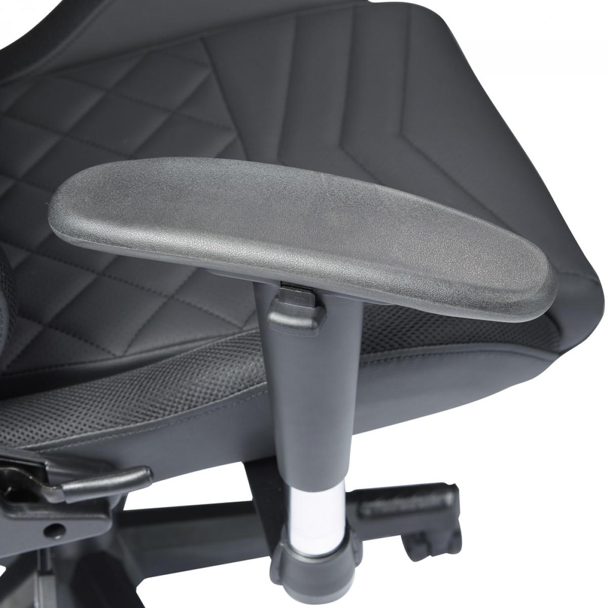 Cadeira Gamer Riotoro, Spitfire X1S, RGB, Reclinável, Black, GC-30X1S