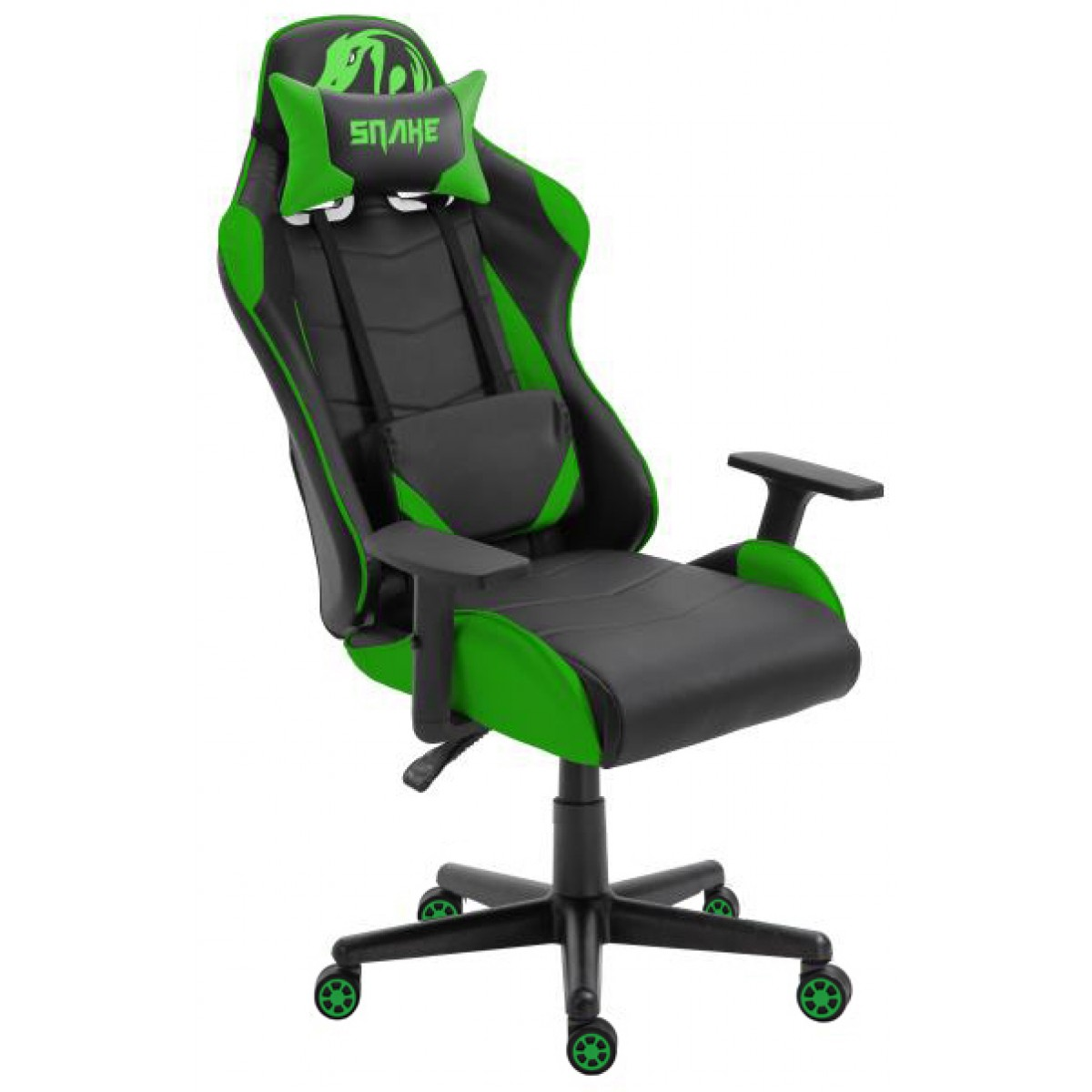 Cadeira Gamer Snake, Krait, Green, Snake Krait G B88