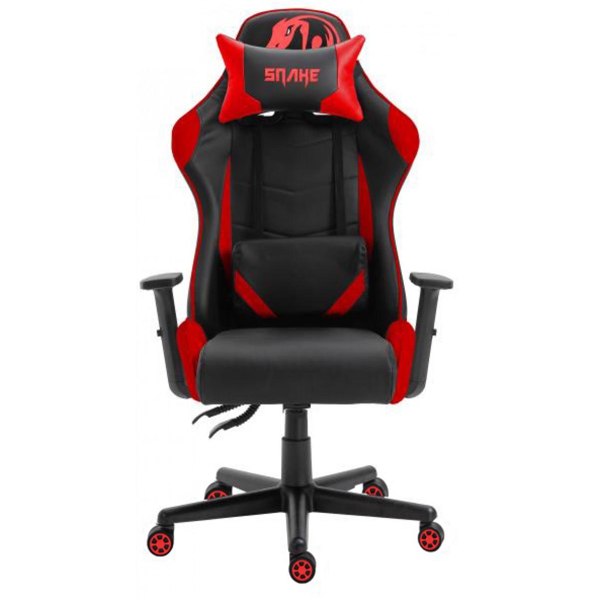 Cadeira Gamer Snake, Krait, Red, Snake Krait R B88
