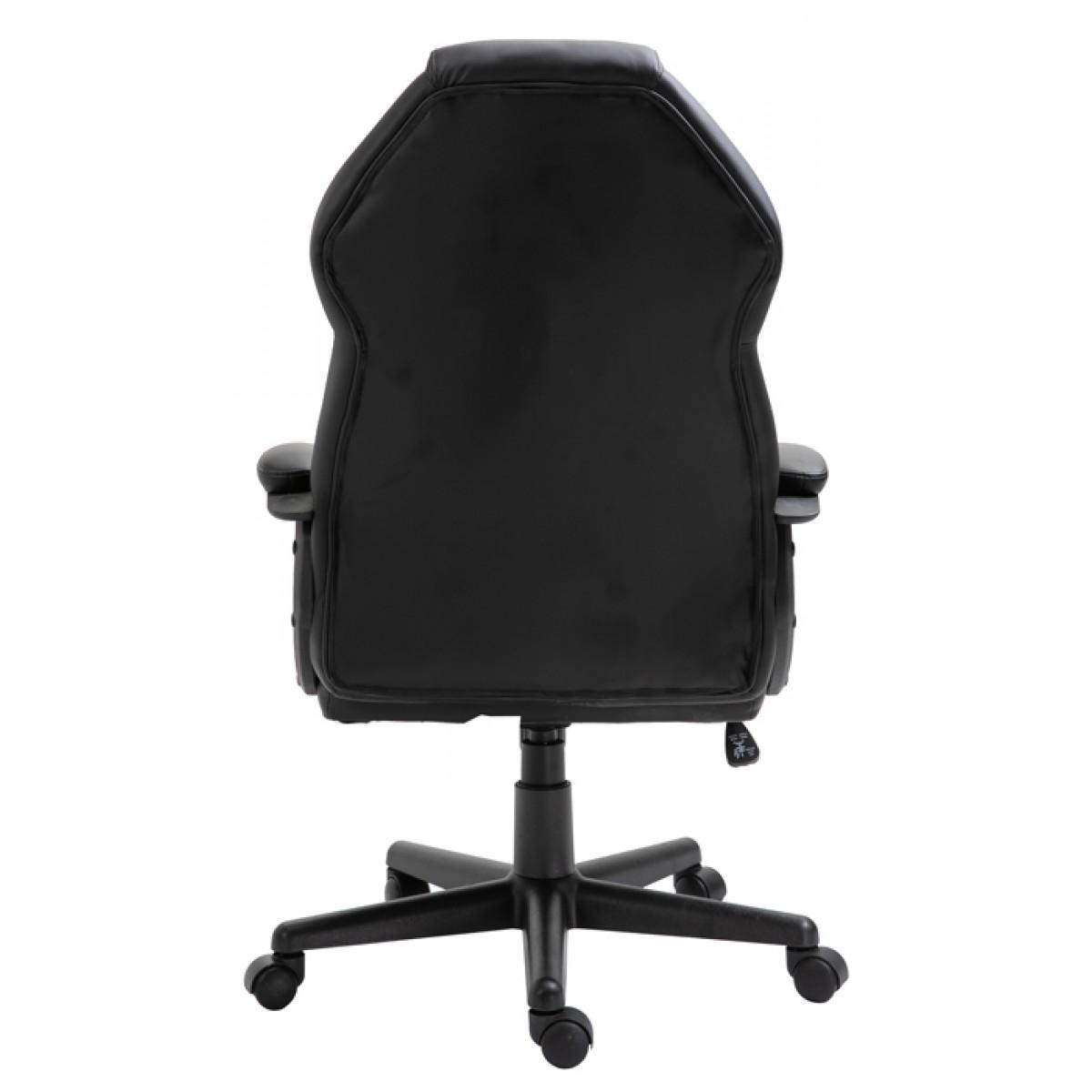Cadeira Gamer Snake Naja 411, Reclinável, Black