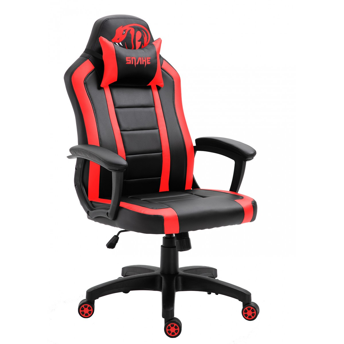 Cadeira Gamer Snake Viper II, Black/Red, SNG-CH-VI002