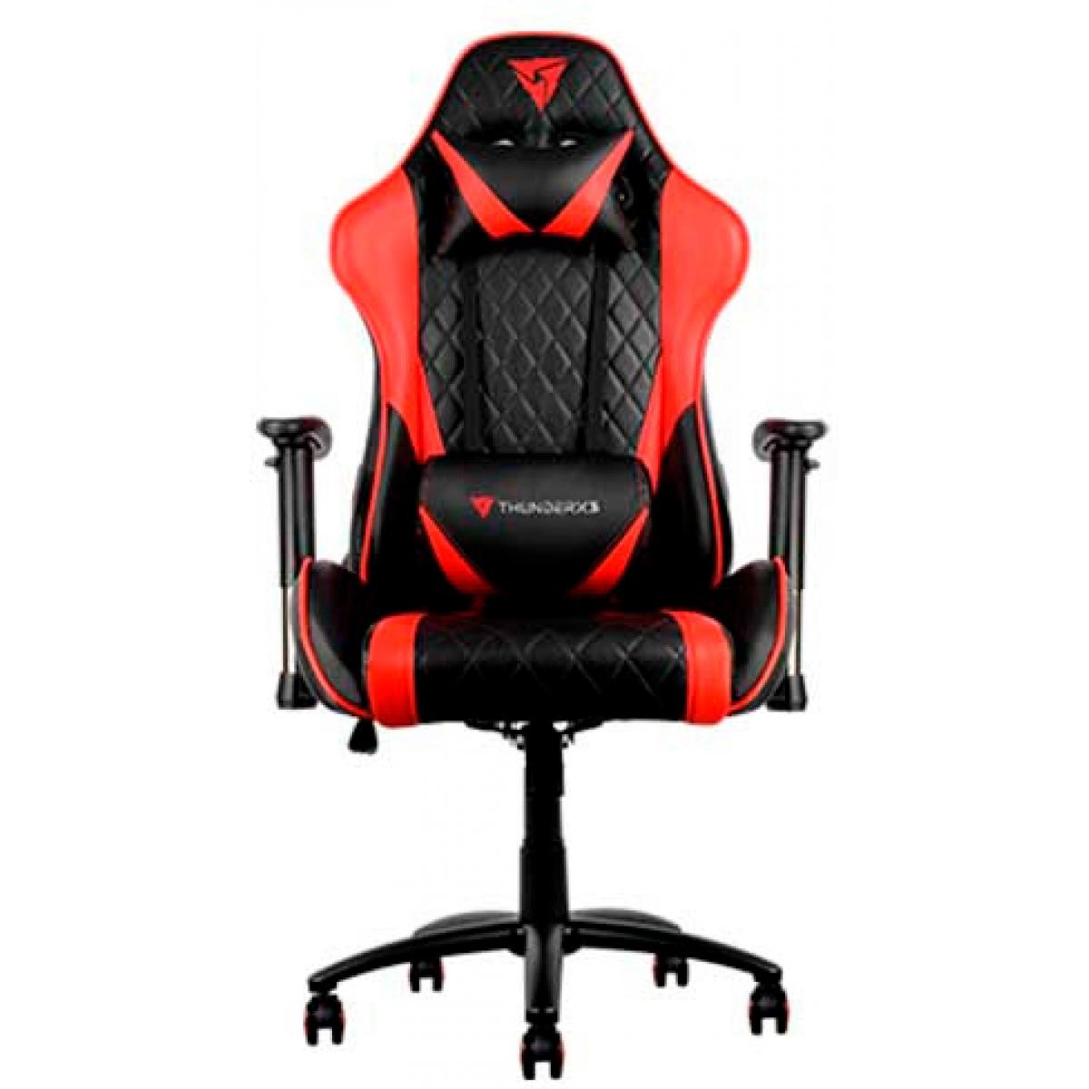 Cadeira Gamer ThunderX3, Black-Red, TGC15-BK/RD