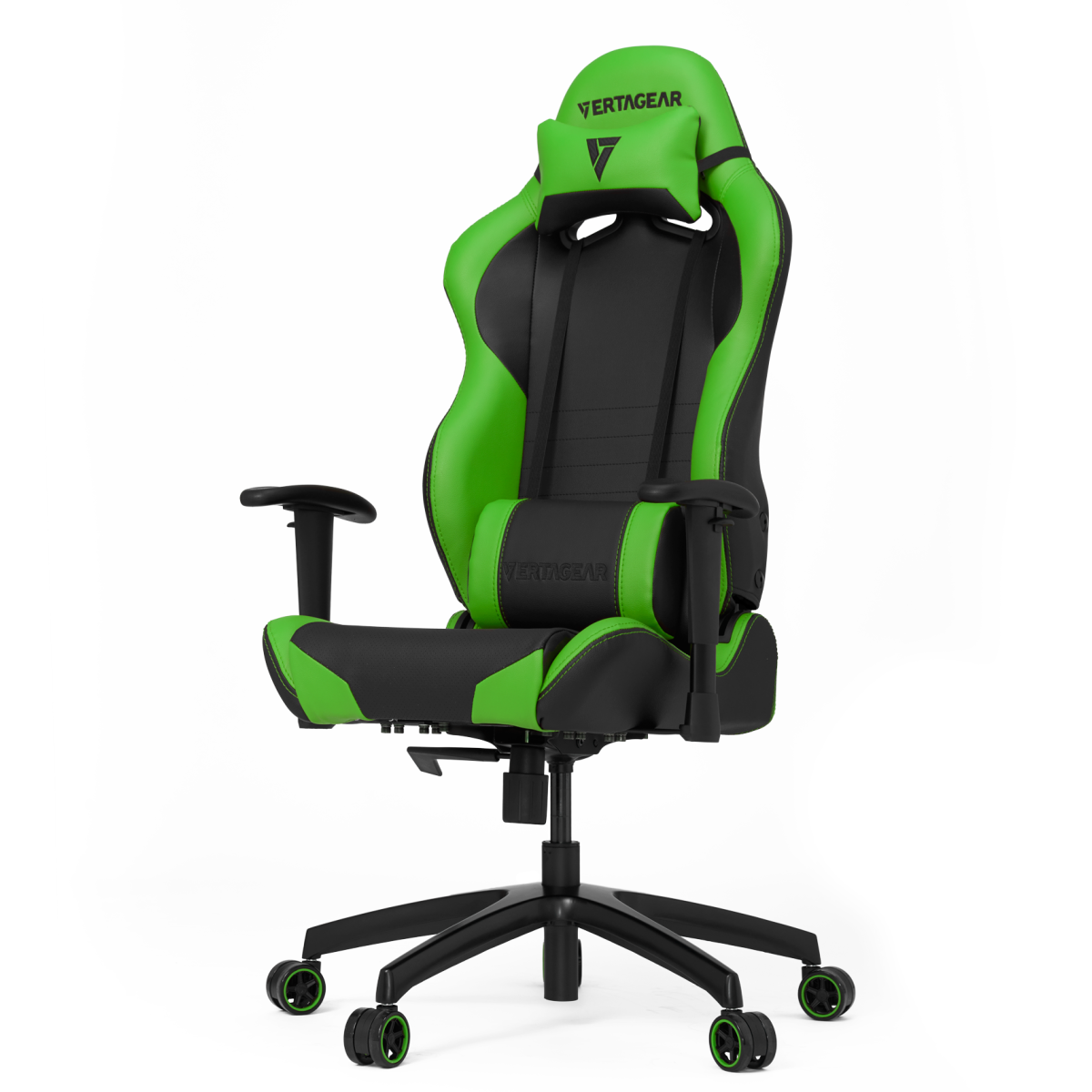 Cadeira Gamer Vertagear Racing SL2000, Black-Green, VG-SL2000_GR