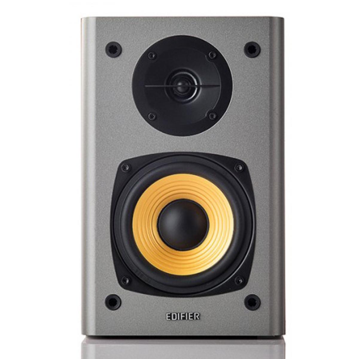 Caixa de Som Edifier R1000 T4 2.0 Madeira, 24W RMS
