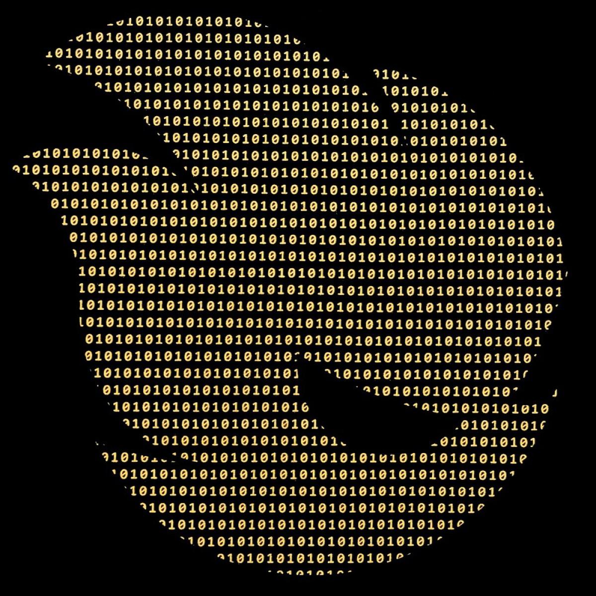 Camiseta Terabyteshop, Unisex, Manga Curta, Algodão, Preto e Laranja, Logo (P,M,G,GG)